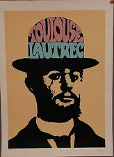 "Peter Max -  L/E Serigraph "" Toulouse Lautrec"" Hand-signed & Numbered"