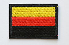 National flag of Germany German Black border Iron On patch Jean Applique