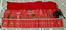 Xcelite 99SMW Screw/Nut Driver Pliers Tool Roll Kit Apex Cooper tool Made in USA