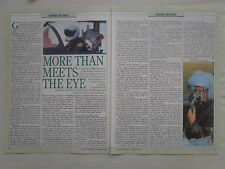 9/1993 ARTICLE 2 PAGES HMD HELMET MOUNTED DISPLAY GEC MARCONI CASQUE PILOTE