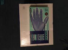 SUPERTOUCH 1 boîte de jetables bleu vinyle gants medium (100/box)
