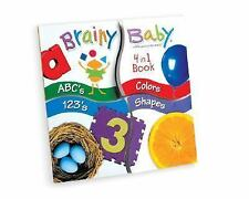 Brainy Baby 4-In-1  Quad Book