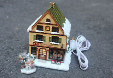 Hummel Hawthorne Christmas Village * Cup of Cheer Cafe * Coffee Shop NEW