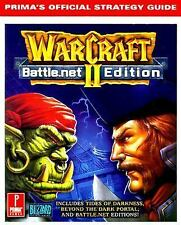 WarCraft II Battle.net Edition: Prima's Official Strategy Guide. Prima Paperbac
