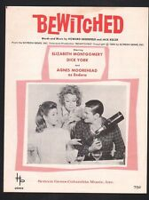 Bewitched Television 1964 Elizabeth Montgomery Sheet Music