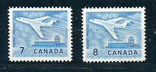 CANADA 1964 DOUGLAS DC-9 AIRLINER UPLANDS AIRPORT SG540/540a BLOCKS OF 4 MNH