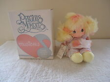 "Vintage 1985 Precious Moments Musicals Doll # 4509 Heather "" IOB "" BEAUTIFUL COL"