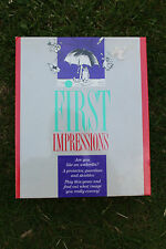 First Impressions by Waddingtons NEW and SEALED Ship Worldwide
