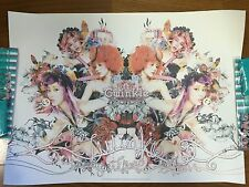 SNSD Girls Generation TTS TaeTiSeo Twinkle Official Promo Poster Not For SALE KR
