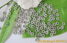 700PCS Tibetan Silver daisy spacer beads 5mm W299