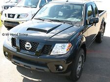 Hood Scoop For Nissan Titan Frontier By MRHoodScoop Unpainted HS009