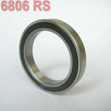 6806 61806 2RS Si3N4 Ceramic Ball Bearing Rubber Sealed BB30 Hubs 30x42x7mm