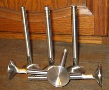 "225 Slant Six oversize exhaust valves set 1.44"" one piece stainless steel"
