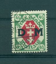 FREE CITY OF DANZIG - GERMANY 1921 40 Pf Official Stamp