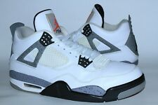 NIKE AIR JORDAN IV 4 WHITE BLACK CEMENT GREY 2012 OG RETRO ORIGINAL Size 11