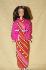 Pretty Vintage Walk Lively Steffie Barbie Doll (1972)