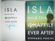***SIGNED 1st Printing/Ed*** Isla and the Happily Ever After Stephanie Perkins