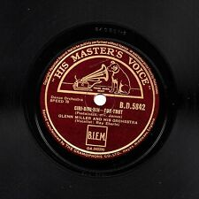GREAT 1944 GLENN MILLER 78 CIRI-BIRI-BIN /MY ISLE OF GOLDEN DREAMS HMV BD 5842 E