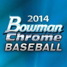 2014 Bowman Chrome and Prospects Complete your set Baseball 10 cards U-Pick