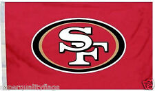San Franciso 49ers 3x5 ft New red logo banner
