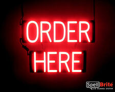 SpellBrite Ultra-Bright ORDER HERE Sign Neon look LED performance