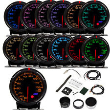 13-Colors Universal Car Truck LED Digital Oil Temperature Gauge Meter Kit Sensor