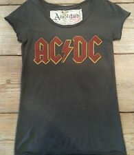 Amplified ACDC Womens T Shirt  Vintage Washed  XS, S, M, L !!!!!