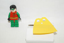 LEGO BATMAN, Robin short Hair new yellow cape kurzes Haar gelber Umhang