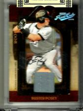 Buster Posey 2008 Playoff Prime Cuts Autograph Game Used Jersey Rookie #003/249