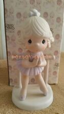 Enesco Precious Moments Lord Keep Me On My Toes Ballet Figurine 100129