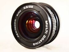 LENS  PENTACON  auto (2.8/29)  Multi coating. (Mount42) Made in G.D.R.