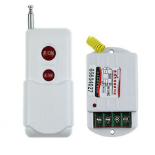 Switch For Lighting 220V 1Way RF Wireless Remote Control ON OFF Switch Output