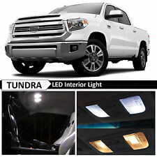 19x White Interior LED Lights Package Kit for 2007-2015 Toyota Tundra + TOOL