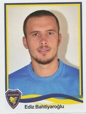 N°030 EDIZ BAHTIYAROGLU # TURKEY BUCASPOR STICKER PANINI SUPERLIG 2011