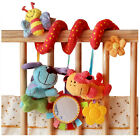 Multifunctional Baby Kids Car Pram Hanging Bell Bed Crib Ring Plush Toy Gift