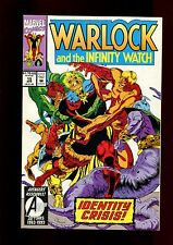 WARLOCK AND THE INFINITY WATCH 15(9.4)(NM)THANOS-WAR-STARLIN-MARVEL(b070)
