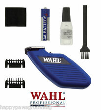 WAHL Grooming Pocket Pro CORDLESS PET DOG CAT Trimmer/Clipper Kit Set*Quiet*NEW