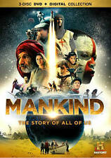 Mankind: The Story of All of Us (DVD, 2012, 3-Disc Set)