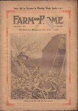 Farm and Home November 1 1916 Dry Corn Fodder w/ML Gd 062316DBE