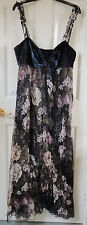 Per Una Speziale Floral Maxi Dress - New, Size 14R, 75% Silk, Was £150