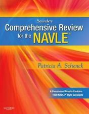 Saunders Comprehensive Review for the NAVLE® by Patricia Schenck (2009, Paperba…