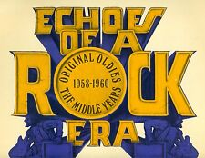 ECHOES OF A ROCK ERA 1958-1960 THE MIDDLE YEARS THE MONOTONES.. Do-LP FOC (b297)