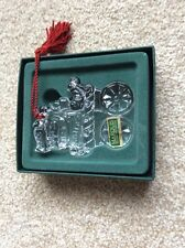 WATERFORD BABYS FIRST CHRISTMAS 2003 XMAS DECORATION MIB