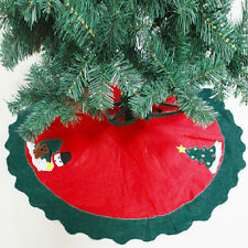 Xmas Holiday Decoration Large Fancy Santa Claus Christmas Tree Skirt