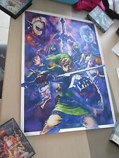 THE LEGEND OF ZELDA SKYWARD SWORD #2 CLUB NINTENDO JAPAN OFFICIAL B2 POSTER!