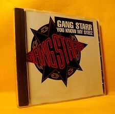 MAXI Single CD Gang Starr You Know My Steez 4TR 1997 Hip Hop RARE !