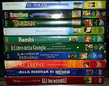 Lotto di 10 DVD - DISNEY - PIXAR