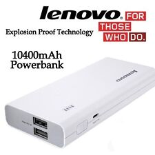 100% Original Lenovo PA10400 Power Bank 10400 mAh Portable Charger