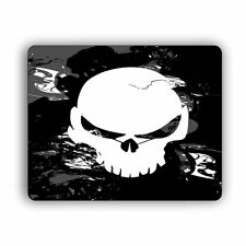"Smoke Skull Computer Gaming Mouse Mat Pad   8""x 10""  Desktop Laptop Mouse"