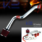 For 1994-2002 Honda Accord DX LX EX SE L4 4Cyl Cold Air Intake+Red Filter